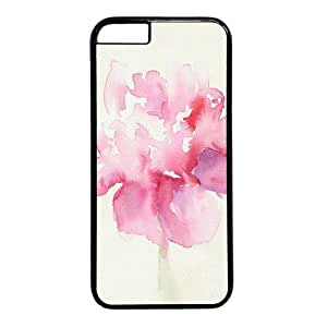 """Watercolor Flower Theme Case for iPhone 6 Plus (5.5"""") PC Material Black by icecream design"""