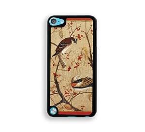 Retro Bird Art iPod Touch 5 Case - Fits ipod 5/5G
