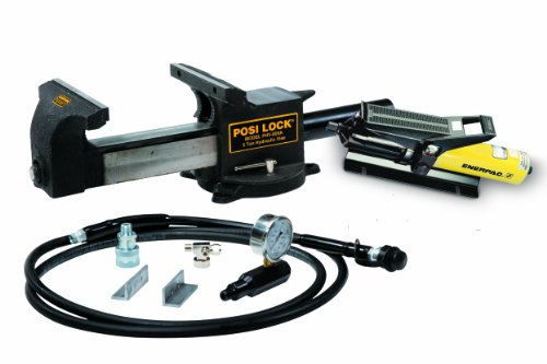 Hydraulic Vise (Posi Lock PHV859A Puller Hydraulic Bench Vise, 5 tons Capacity)