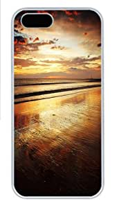 Evening Sunset Polycarbonate Hard Case Cover for iPhone 6 4.7 White