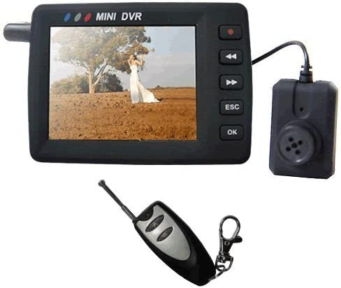Pocket mini DVR video recorder  Lawmate PV-500 with Camera and 4GB SD Card.