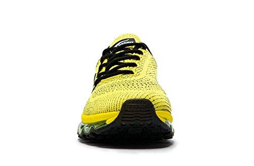 OneMix - Zapatillas de running para hombre, color amarillo, talla 41