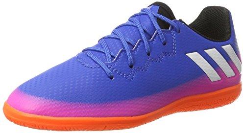 adidas Messi 16.3 In J, Zapatillas de Fútbol Unisex Niños Azul (Blue / Ftwr White / Solar Orange)