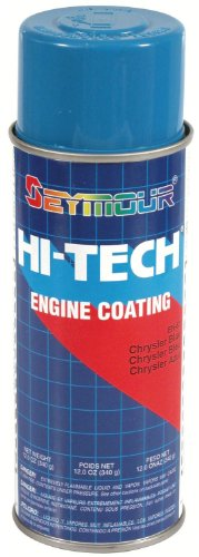 Seymour EN-63 Hi-Tech Engine Spray Paint, Chrysler Blue