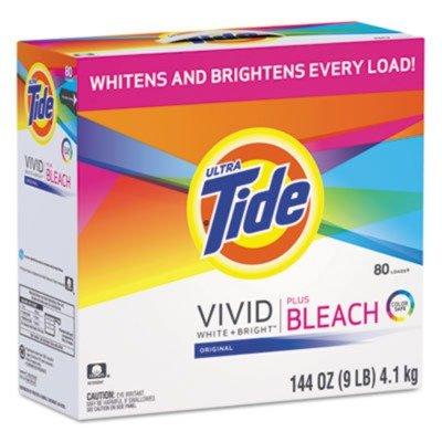 Tide Laundry Detergent with Bleach, Original Scent, Powder, 144oz Box (PGC84998)