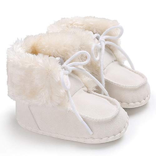 Pictures of Fnnetiana Newborn Baby Warm Winter Snow Boots 1