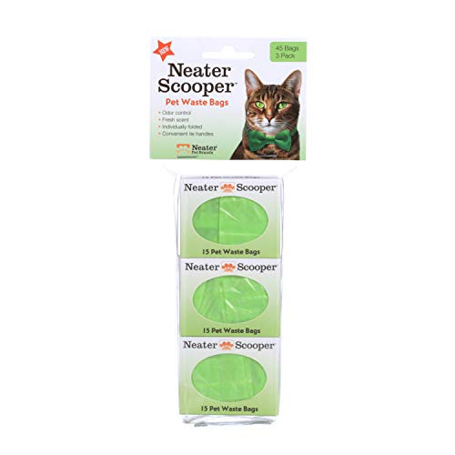 NEATER PET BRANDS 360-200-HD3 Scooper Refill Bags, Green ()