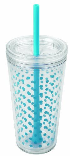 copco-2510-0430-minimus-tumbler-with-straw-24-ounce-cyan-blue-dots