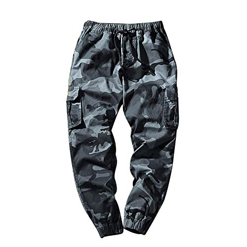 Fashion Points Small Looser Casual Pant,Men's