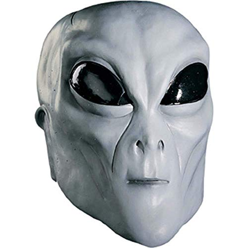 Rubie's Men's Grey Alien Latex Mask Adult Costume, -as Shown, One Size -
