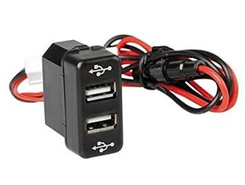 Empotrable de salida doble cargador USB Dual camión con ...