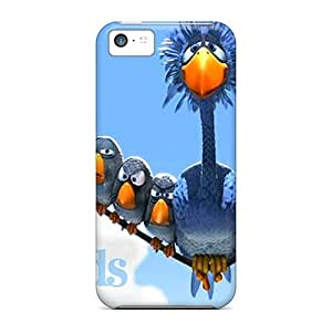 (Hpoej7633EfjJA)durable Protection Case Cover For Iphone 5c(for The Birds)