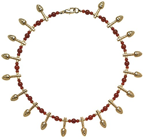 SUMMER Sale - Egyptian Nefer Necklace with Carnelian, From Our Museum Collection by ILANET Museum Reproductions