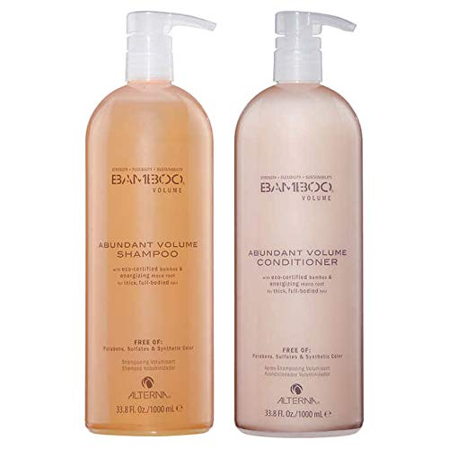 Alterna Bamboo Abundant Volume Shampoo and Conditioner 33.8 Fl. Oz. ()