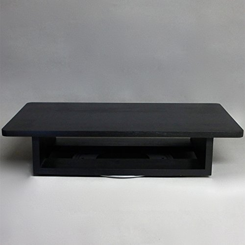 TV and DVD Player Swivel Stand Large (Black) MADE