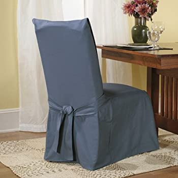 Amazon.com: Sure Fit Stretch Pique - Dining Room Chair Slipcover ...