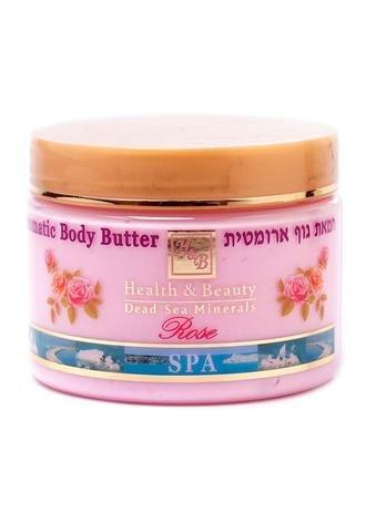 H&B Dead Sea Aromatic Body Butter Rose from Health & Beauty Dead Sea Minerals