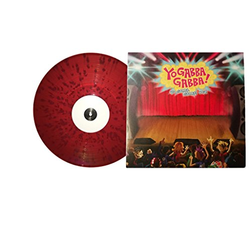(HEY! - Muno themed vinyl (Clear Red with solid Red Splatter & Variant Exclusive