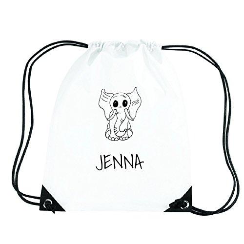 JOllipets JENNA Turnbeutel Sport Tasche PGYM5477 Design: Elefant PkyDLnYr