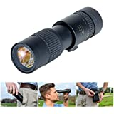 Compact Monocular for Adults, Monocular Scope. Super Lightweight (only 0.3lbs). Fits Easily in a Pocket. 7-17x high Powered Magnification. Hunting Monocular, Monoscope Pocket Scope (M5)