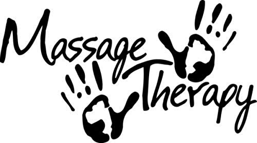 Massage Therapy Wall Decal Sign 40x22