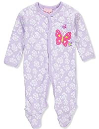 Sweet & Soft Baby Girls' Footed Coverall
