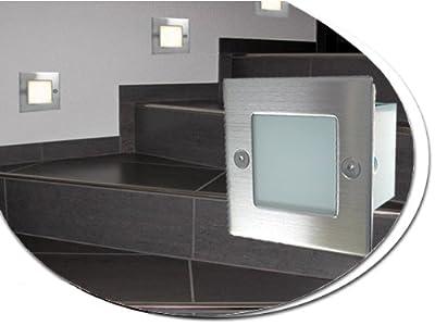10er set wandleuchte grazio led 230v ip54 garantie 3. Black Bedroom Furniture Sets. Home Design Ideas