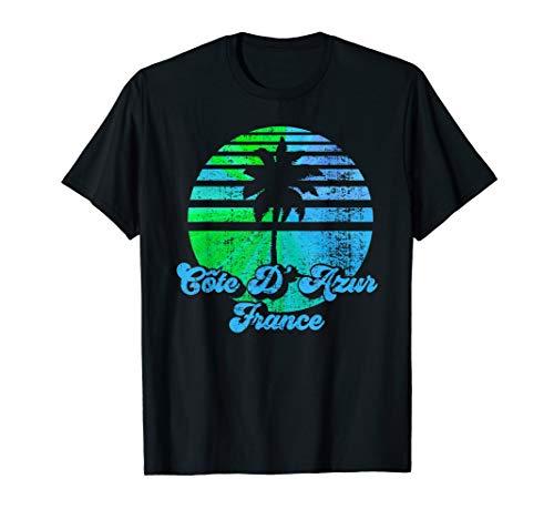 Cote D'Azur - Nice, St. Tropez, Cannes, France Souvenir T-Shirt