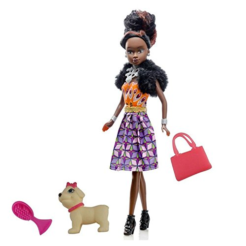 (Queens of Africa Black Doll - AZEEZAH (Curly/Natural Hair) Black Doll Authentic African American Doll for Kids-Great Gift Ideas and Collections)