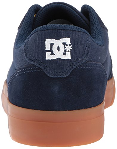 DC Men's Anvil Skate Shoe, Navy/Gum, 9.5 D D US