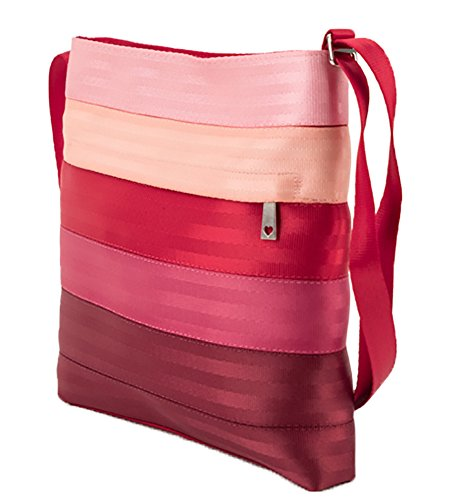 Harveys Women's Streamline Seatbelt Crossbody Purse Bag (Be Mine)