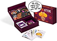 Exploding Kittens Card Game - Party Pack for Up to 10 Players - Family-Friendly Party Games - Card Games for Adults, Teens &