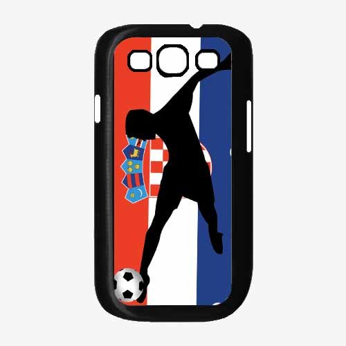 fan products of World Cup France Soccer TPU RUBBER SILICONE Phone Case Back Cover Samsung Galaxy S3 I9300 includes BleuReign(TM) Cloth and Warranty Label