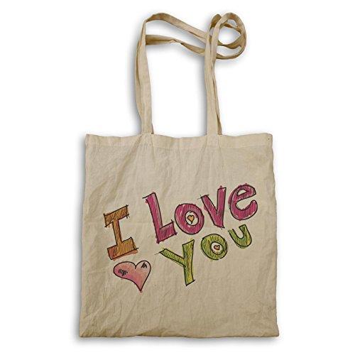 Ich liebe dich u Valentinstag-lustiges Geschenk Tragetasche d595r