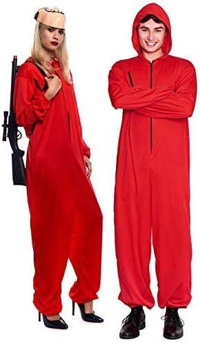 Disfraz La Casa de Papel Atracador Mono Rojo Unisex Halloween ...