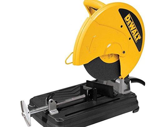 DEWALT DW871 2200 Watt 355mm Heavy Duty Chop Saw with wheel included 1