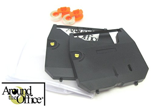 Around The Office Compatible Brother Typewriter Ribbon & Correction Tape for Brother AX 110 Typewriter … This Package Includes 2 Typewriter Ribbons and 2 Lift Off Tapes by Around The Office