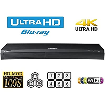 Samsung UBD-M9000 UHD Blu-ray Player Multiregion Blu-ray and DVD  Code Free Blu-ray Player for All Zone playback
