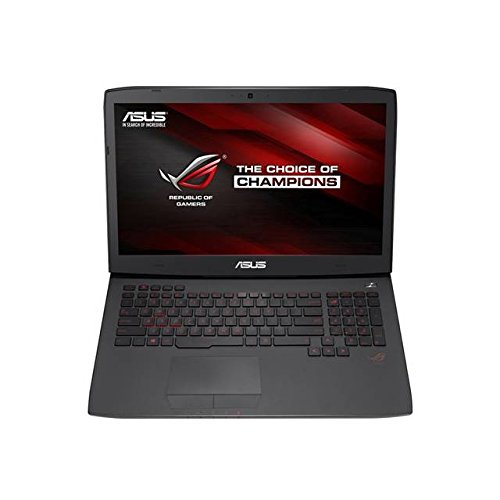 Asus ROG G751JT-DH72 17.3 inch Intel Core i7-4710HQ 2.5GHz/ 16GB DDR3L/ 1TB HDD + 256GB SSD/ DVD±RW/ USB3.0/ Windows 8.1 Notebook (Black)