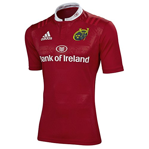 2015-2016 Munster Adidas Home Rugby Shirt