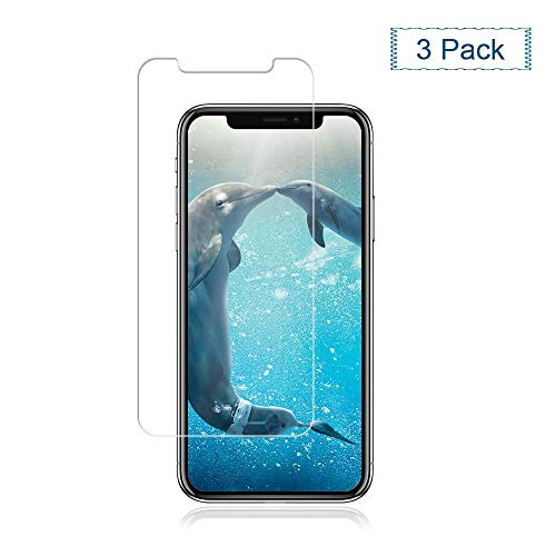[3-Pack] iPhone Xs/X Glass Screen Protector,Cafetec Case Friendly,Scratch Resistant, Bubble Free,Tempered Glass Screen Protector Compatible with iPhone Xs/X [5.8 Inch].