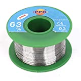 Aexit 0.3mm Diameter Electrical equipment Tin Lead Soldering Solder Welding Wire Rosin Core Reel