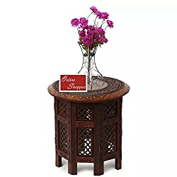 Onlineshoppee Sheesham Wood Charlize Coffee Table