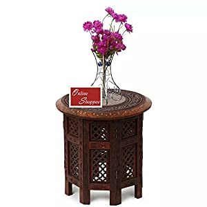 Onlineshoppee® Sheesham Wood Charlize Coffee Table