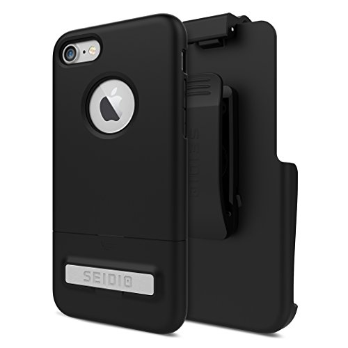 Seidio Cell Phone Case for iPhone 8 - Black ()