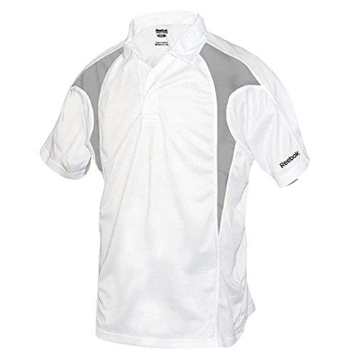 REEBOK GOLF NEW Mens Size ColorBlock Dri-fit Sport t Shirts 2X 3X 4X 5X POLO White XL…