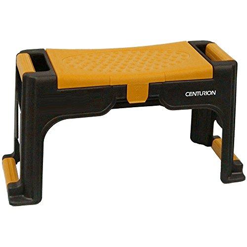 Garden Pad Chair (Centurion Garden and Outdoor Living 1238 Centurion Garden Chair with Kneeling Pad and Storage, Yellow)