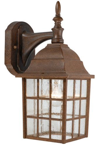 Hardware House 544114 Downward-Facing 14-by-6-Inch Aluminum Outdoor Light Fixture, Artesian Bronze by Hardware House