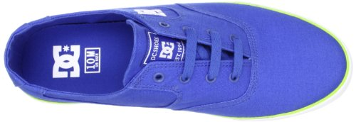 Royal FLASH Blue TX Shoes d0302911 DC Mens tela Blau nbsp;Scarpe di per Shoe nbsp;– Blu uomo q6U5n