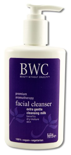 Beauty without Cruelty Facial Cleansing Milk, Extra Gentle, 8.5-Ounce